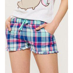 Piżamy damskie: Piżamowe szorty – Wielobarwn