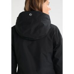 Icepeak LARA Kurtka przeciwdeszczowa black. Czarne kurtki damskie przeciwdeszczowe marki Icepeak, z materiału. W wyprzedaży za 279,30 zł.
