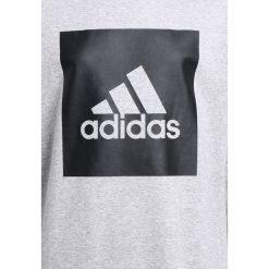 Bluzy męskie: adidas Performance LOGO CREW Bluza melange grey/black
