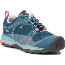 Trekkingi KEEN - Terradora Low Wp 1018370 Aqua Sea/Coral. Niebieskie buty trekkingowe damskie Keen. Za 299,95 zł.