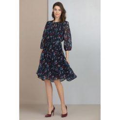 Sukienki: Wiosenna sukienka w kwiaty