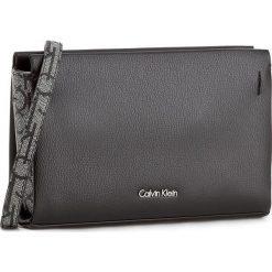 Torebka CALVIN KLEIN BLACK LABEL - Marissa Mono Crossbody K60K602832 005. Czarne listonoszki damskie marki Calvin Klein Black Label, z materiału. W wyprzedaży za 299,00 zł.