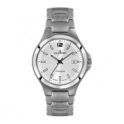 """Zegarek """"4460661"""" w kolorze srebrnym. Szare, analogowe zegarki męskie Dugena & Nautec No Limit, metalowe. W wyprzedaży za 399,95 zł."""