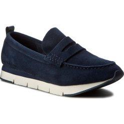 Mokasyny CALVIN KLEIN JEANS - Haben S1604 Indigo/Black. Niebieskie mokasyny męskie Calvin Klein Jeans, z jeansu. W wyprzedaży za 349,00 zł.