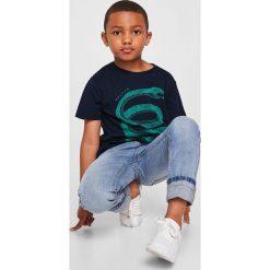 Odzież chłopięca: Mango Kids – T-shirt dziecięcy Fierce 104-164 cm