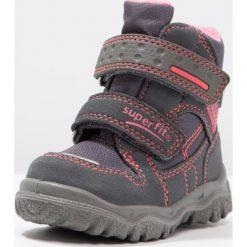 Superfit HUSKY1 Śniegowce stone. Szare buty zimowe damskie marki Superfit, z materiału. W wyprzedaży za 164,45 zł.