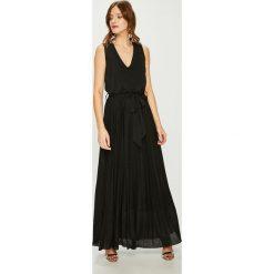 Answear - Sukienka Night Fever. Czarne długie sukienki marki ANSWEAR, m, z dzianiny, eleganckie. Za 229,90 zł.