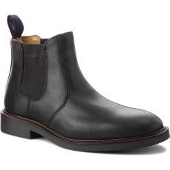 Sztyblety GANT - Spencer 17651886 Black G00. Czarne sztyblety męskie GANT, ze skóry. Za 739,90 zł.