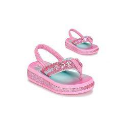 Japonki Dziecko  Skechers  Sunshines. Czerwone klapki dziewczęce marki Skechers. Za 103,20 zł.