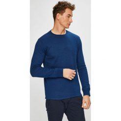 Levi's - Sweter. Brązowe swetry klasyczne męskie marki Levi's®, l, z bawełny, z okrągłym kołnierzem. Za 189,90 zł.