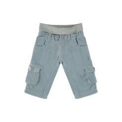 STEIFF Boys Baby Spodnie sztruksowe gray. Szare spodnie chłopięce marki Steiff, z bawełny. Za 110,00 zł.