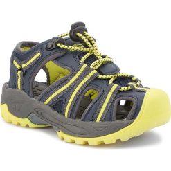 Sandały CMP - Kids Aquarii Hiking Sandal 3Q95474 Antracite/Cedro 44ak. Niebieskie sandały chłopięce CMP, z materiału. Za 139,99 zł.
