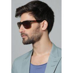 RayBan Okulary przeciwsłoneczne brown. Brązowe okulary przeciwsłoneczne damskie lenonki marki Ray-Ban. Za 509,00 zł.
