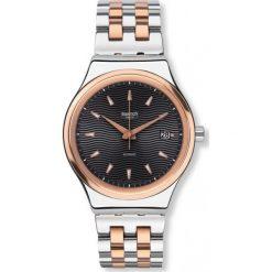 ZEGAREK SWATCH SISTEM51 IRONY. Szare zegarki męskie Swatch, ze stali. Za 865,00 zł.