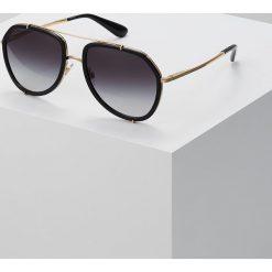 Dolce&Gabbana Okulary przeciwsłoneczne black. Czarne okulary przeciwsłoneczne damskie lenonki Dolce&Gabbana. Za 959,00 zł.