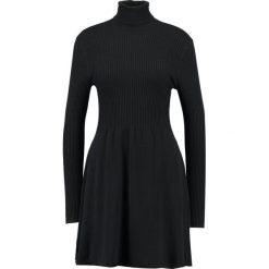 Sukienki: ONLY ONLALMA  Sukienka dzianinowa black