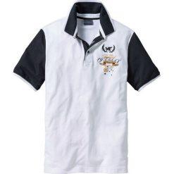 Koszulki polo: Shirt polo Regular Fit bonprix biały