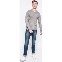 Tom Tailor Denim - Jeansy. Niebieskie jeansy męskie slim marki TOM TAILOR DENIM, z bawełny. W wyprzedaży za 129,90 zł.
