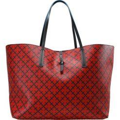Shopper bag damskie: By Malene Birger GRINEEH Torebka bright red