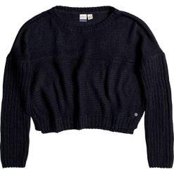 """Swetry klasyczne damskie: Sweter """"True"""" w kolorze czarnym"""