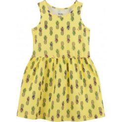 Sukienki dziewczęce z falbanami: Sukienka w owocowy deseń dla dziewczynki