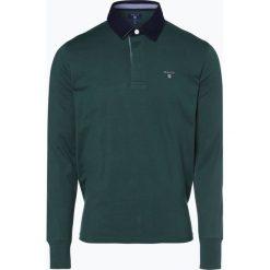 Gant - Męska bluza nierozpinana, zielony. Zielone bejsbolówki męskie GANT, l. Za 379,95 zł.