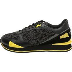 Trampki męskie: Kenzo RUNNING  Tenisówki i Trampki black/yellow fluo
