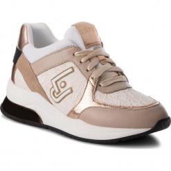 Sneakersy LIU JO - Karlie 05 B68003 TX002 Nude 51315. Brązowe sneakersy damskie Liu Jo, z materiału. Za 649,00 zł.