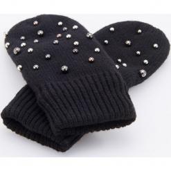 Rękawiczki z koralikami - Czarny. Czarne rękawiczki damskie Reserved. Za 49,99 zł.