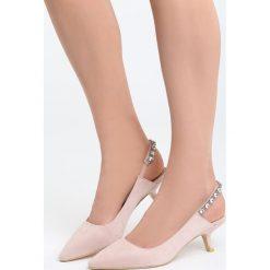 Sandały damskie: Różowe Sandały Fetch Away