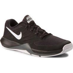 Buty NIKE - Lunar Prime Iron II 908969 001 Black/Metalic Silver. Czarne buty fitness męskie Nike, z materiału. W wyprzedaży za 259,00 zł.