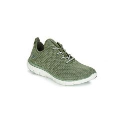 Fitness buty Skechers  FLEX APPEAL 2.0. Brązowe buty do fitnessu damskie marki NEWFEEL, z gumy. Za 309,00 zł.