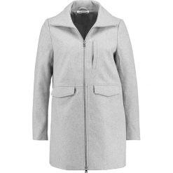 Płaszcze damskie pastelowe: Noisy May NMMINNA  Krótki płaszcz light grey melange
