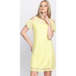 Sukienki: Żółta Sukienka Love Takes Over