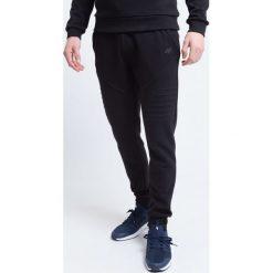 Spodnie dresowe męskie: Spodnie dresowe męskie SPMD227 – głęboka czerń
