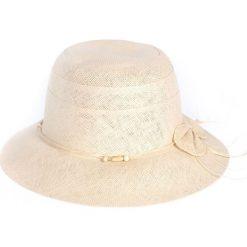 Kapelusz damski Skromna elegancja beżowy (cz17216-2). Brązowe kapelusze damskie Art of Polo. Za 36,52 zł.