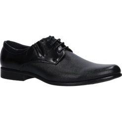 Czarne buty wizytowe Casu MXC417. Czarne buty wizytowe męskie Casu. Za 79,99 zł.