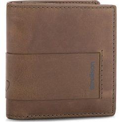 Mały Portfel Męski STRELLSON - Epping 4010002299 Grey 800. Brązowe portfele męskie marki Strellson, ze skóry. Za 169,00 zł.