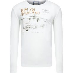T-shirty męskie: T-shirt AERONAUTICA MILITARE Biały