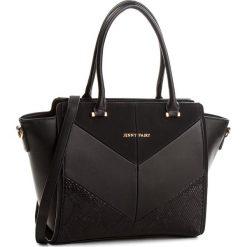 Torebka JENNY FAIRY - RS0268 Black. Czarne torebki klasyczne damskie marki Jenny Fairy, ze skóry ekologicznej. Za 119,99 zł.