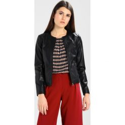 Odzież damska: Armani Exchange Kurtka ze skóry ekologicznej black