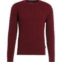 Barbour SANDA CREW Sweter merlot. Czerwone swetry klasyczne męskie Barbour, m, z bawełny. W wyprzedaży za 349,30 zł.