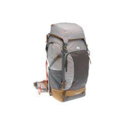 Plecak trekkingowy Travel 70 l damski. Szare plecaki damskie marki FORCLAZ, z materiału. Za 449,99 zł.