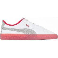 Trampki Iced Glitter. Białe buty sportowe dziewczęce marki Born2be, z materiału, na sznurówki. Za 272,96 zł.