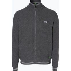 Swetry rozpinane męskie: BOSS Athleisure – Kardigan męski – Zam_W17, szary