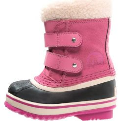 Sorel 1964 PAC  Śniegowce tropic pink. Czerwone buty zimowe damskie Sorel, z materiału. Za 319,00 zł.