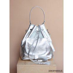 Plecaki damskie: Skórzany damski worek | plecak | torba na ramię