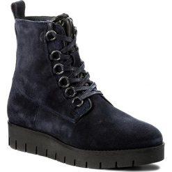 Botki TOMMY HILFIGER - Windstor 10B FW0FW01456  Midnight 403. Czarne buty zimowe damskie marki TOMMY HILFIGER, z materiału, z okrągłym noskiem, na obcasie. W wyprzedaży za 359,00 zł.