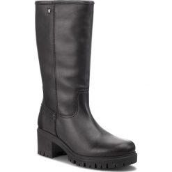 Kozaki PANAMA JACK - Patricia B15 Napa Negro/Black. Czarne buty zimowe damskie Panama Jack, ze skóry, na obcasie. Za 849,00 zł.