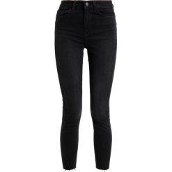 New Look SHAPER Jeans Skinny Fit black. Czarne jeansy damskie marki New Look, z materiału, na obcasie. Za 169,00 zł.